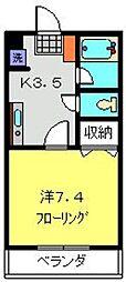 神奈川県横浜市戸塚区吉田町の賃貸マンションの間取り