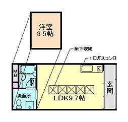 EAST−1[2階]の間取り