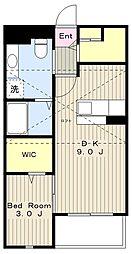 ルネ桜台[202号室]の間取り