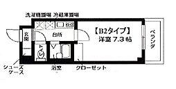 アヴァンセクール町屋[5階]の間取り