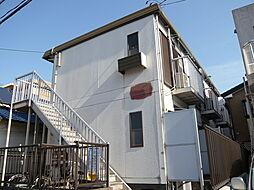 千葉県市川市伊勢宿の賃貸アパートの外観