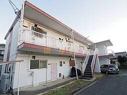 東京都昭島市朝日町5丁目の賃貸マンションの外観
