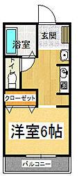 福岡電算ビル[303号室]の間取り