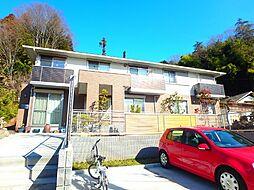 神奈川県川崎市麻生区古沢の賃貸アパートの外観