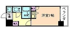 大阪府大阪市北区天神西町の賃貸マンションの間取り
