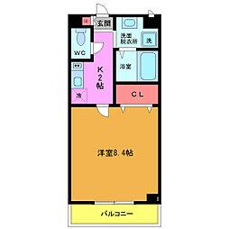 東京都江戸川区東葛西3丁目の賃貸マンションの間取り