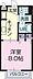 間取り,1K,面積28.02m2,賃料3.4万円,愛知環状鉄道 瀬戸口駅 徒歩15分,,愛知県瀬戸市美濃池町