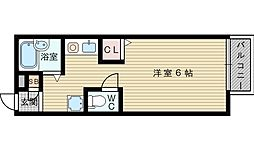 津島ハイツ[1階]の間取り