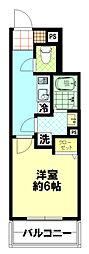 Forst Residenz Nakamurabashi[404号室]の間取り
