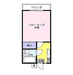 近藤コーポ[2階]の間取り