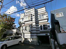 北海道札幌市西区琴似三条4丁目の賃貸アパートの外観