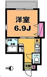 月村マンションNo23[7階]の間取り