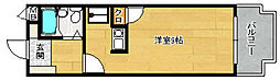パールマンション長尾[505号室]の間取り