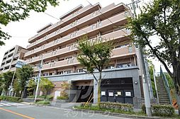 大阪府豊中市北緑丘2丁目の賃貸マンションの外観