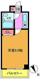 フェースタワーIIK30番館[5階]の間取り