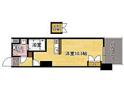 福岡県福岡市東区東浜1丁目の賃貸マンションの間取り