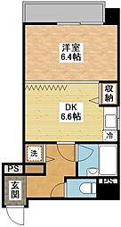 長崎県長崎市鍛冶屋町の賃貸マンションの間取り