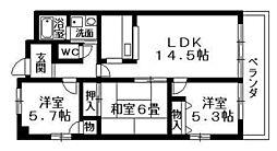 アメニティRITTO[2階]の間取り