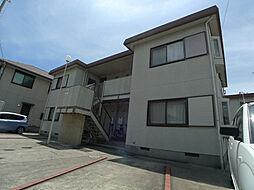 兵庫県加古川市平岡町二俣の賃貸アパートの外観