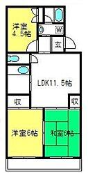 メゾン・松本[103号室]の間取り