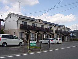 静岡県菊川市加茂の賃貸アパートの外観