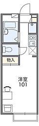 極楽寺[2階]の間取り