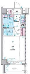 GENOVIA武蔵関公園skygarden 1階1Kの間取り