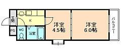 Riora塚本II[3階]の間取り