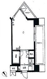 ダイナコート平尾[4階]の間取り