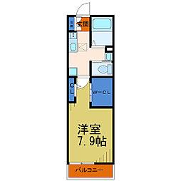 塚越OS館[1階]の間取り