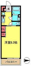 LivLi・杜[1階]の間取り