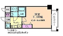 ミア・カーサ与力町[8階]の間取り