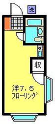白楽エスプレシーボII[215号室]の間取り