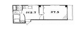 ノーブル駒沢[3階]の間取り