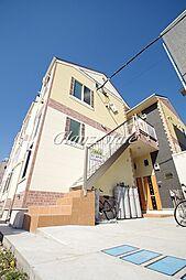 神奈川県川崎市高津区子母口の賃貸アパートの外観