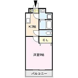 グリーン花水木II[1階]の間取り