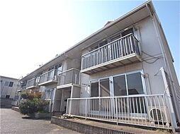 岡山県倉敷市中畝1の賃貸アパートの外観