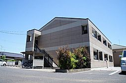 茨城県筑西市女方の賃貸アパートの外観