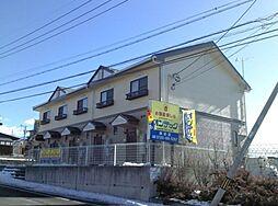 長野県茅野市玉川の賃貸アパートの外観