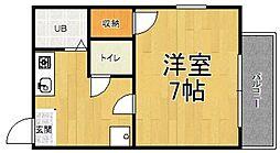 ファミリーコーポ的場[105号室]の間取り