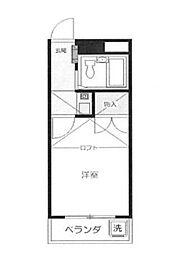 Mプラザ8坂戸[2階]の間取り