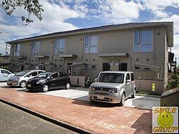 千葉県市川市東菅野3丁目の賃貸アパートの外観