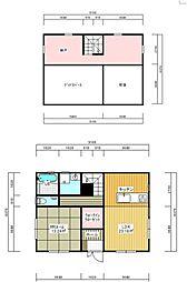 [一戸建] 福島県いわき市平上荒川字桜町 の賃貸【福島県 / いわき市】の間取り