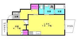 仮)西岡新築アパート[102号室]の間取り