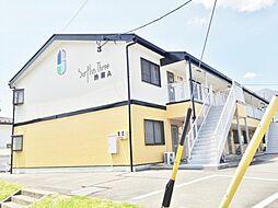 長野県駒ヶ根市赤穂の賃貸アパートの外観
