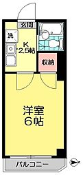 東京都練馬区田柄2丁目の賃貸マンションの間取り