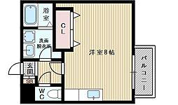 イーズマンション1[2階]の間取り