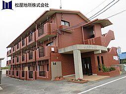愛知県豊橋市若松町字豊美の賃貸マンションの外観