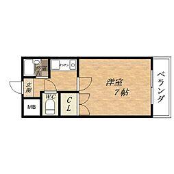 オーナーズマンション小路II[3階]の間取り