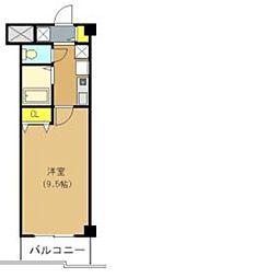 プリムヴェール2階Fの間取り画像